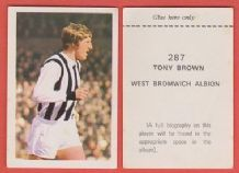 West Bromwich Albion Tony Brown